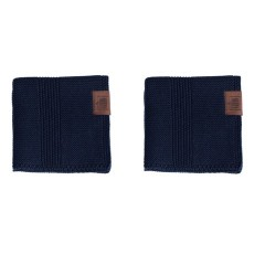 By Lohn - all round cloth - 25x25 cm. - 2 stk. - navy