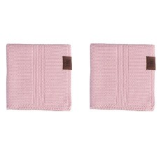 By Lohn - all round cloth - 25x25 cm. - 2 stk. - light pink