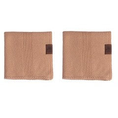By Lohn - all round cloth - 30x30 cm. - 2 stk. - tanin
