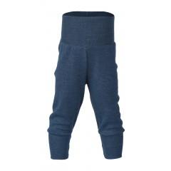 Engel - babybukser - uld - blå melange