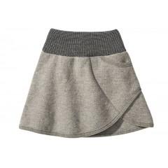 DISANA | nederdel | kogt uld | grå