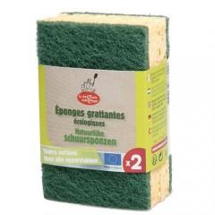 Biogan - rengøringssvamp - 2 stk.