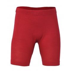 Engel - bermudashorts - uld & silke - rød