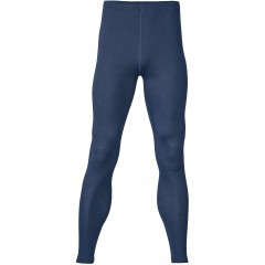 Engel - herre leggings - uld & silke - marineblå