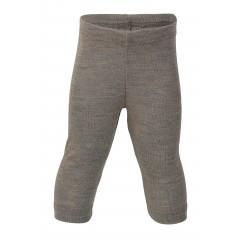 Engel | babyleggings | uld & silke | valnød