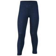 Engel - leggings - uld & silke - marine