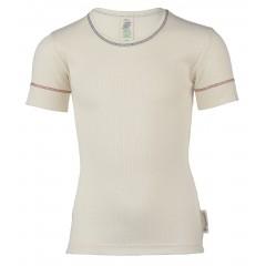Engel - kortærmet t-shirt - økologisk bomuld - natur