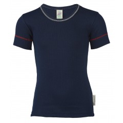 Engel - kortærmet t-shirt - økologisk bomuld - indigo
