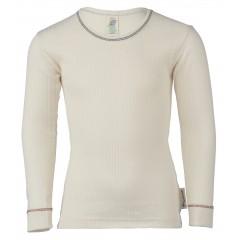 Engel - langærmet t-shirt - økologisk bomuld - natur