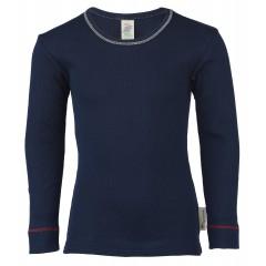 Engel - langærmet t-shirt - økologisk bomuld - indigo