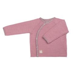 Pure Pure - jakke|trøje - uld & silke - cashmere rose