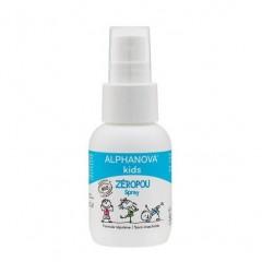 Alphanova Kids - økologisk spray til forebyggelse af lus - 50 ml.