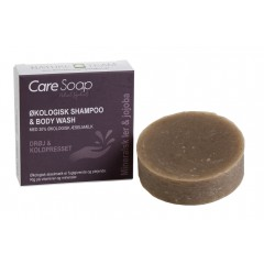 Care Soap - økologisk shampoo bar - Rhassoul og jojoba