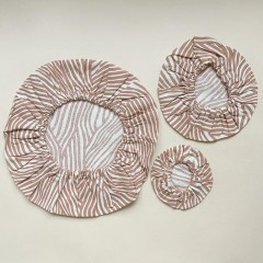 Haps Nordic - 3-pak cotton covers - terracotta wave