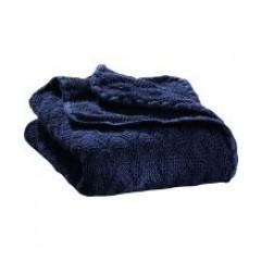 DISANA - babytæppe - økologisk uld - marine