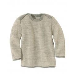 disana | striktrøje | grå/natur