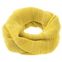 DISANA | tube halstørklæde | curry/natur melange