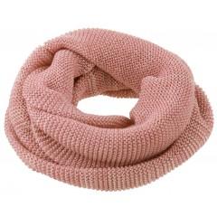 DISANA | tube halstørklæde | rosé/natur melange