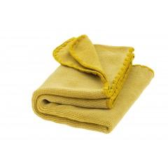 DISANA - babytæppe - økologisk uld - curry melange