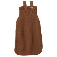 DISANA - sovepose i økologisk merinould - hazelnut