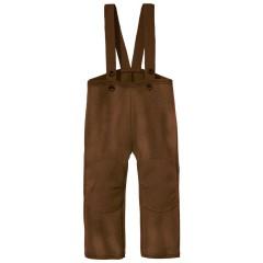 DISANA |uldbukser | kogt uld | hasselnød/brun melange