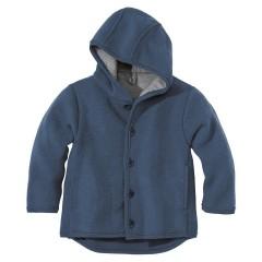 DISANA | uldjakke | kogt uld | marineblå