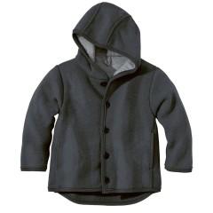 DISANA | uldjakke | kogt uld |antracit