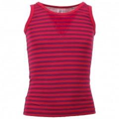 Engel - ærmeløs undertrøje - uld & silke - rød/lilla