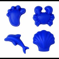 Funkit World - sandforme - 4 stk. - blå