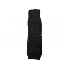 Grödo - benvarmere - børn - økologisk uld - 35 cm. - sort