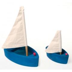 Grimms - sejlbåd - blå - lille eller stor