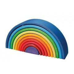 Grimms - stor regnbue 'sunset' - 10 dele