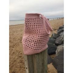By Lohn - handmade Crochet Bag - light pink