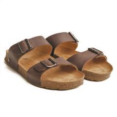 Haflinger - sandaler - Bio Andrea - mørkebrun