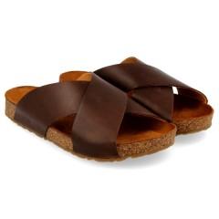 Haflinger - sandaler - Bio Mio - brun