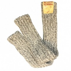 Hirsch - benvarmere - voksne - grå melange