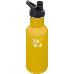 Klean Kanteen - 532 ml. drikkedunk - lemon curry - sportscap