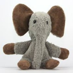 Kallisto - økologisk bamse - grå elefant