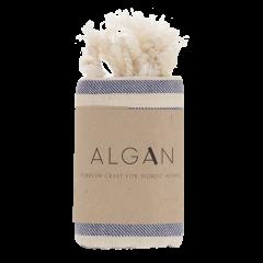 Algan - Kavun gæstehåndklæde - 45x90 cm. - marine