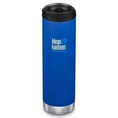 Klean Kanteen - TKWIDE- termoflaske 591 ml. - café cap - deep surf