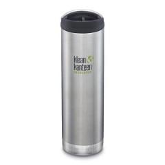 Klean Kanteen - TKWIDE- termoflaske 591 ml. - café cap - stål