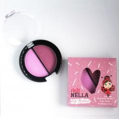 Miss Nella - giftfrit make-up - øjenskygge - pink skies
