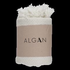 Algan - Nane gæstehåndklæde - 65x100 cm. - råhvid