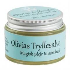 Olivias Tryllesalve - magisk pleje til sart hud 100% økologisk