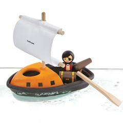 Plan Toys - Pirat båd