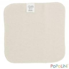 Popolini - 3 små vaskeklude - natur