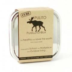 Pulito - madkasse i stål - cube