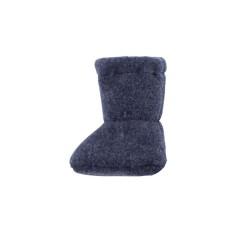 Pure Pure - futter - økologisk uldfleece - jeansblue