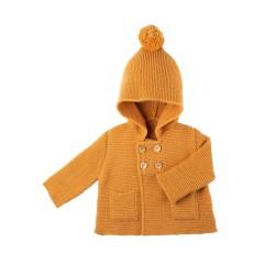 Pure Pure - jakke - alpaca & merinould - amber