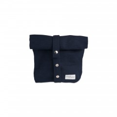 The Organic Company - lunchbag|madpakkepose - dark blue